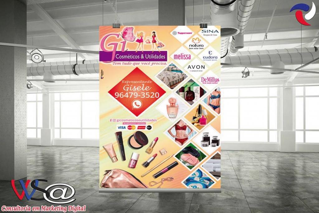 Gi cosméticos & utilidade - banner