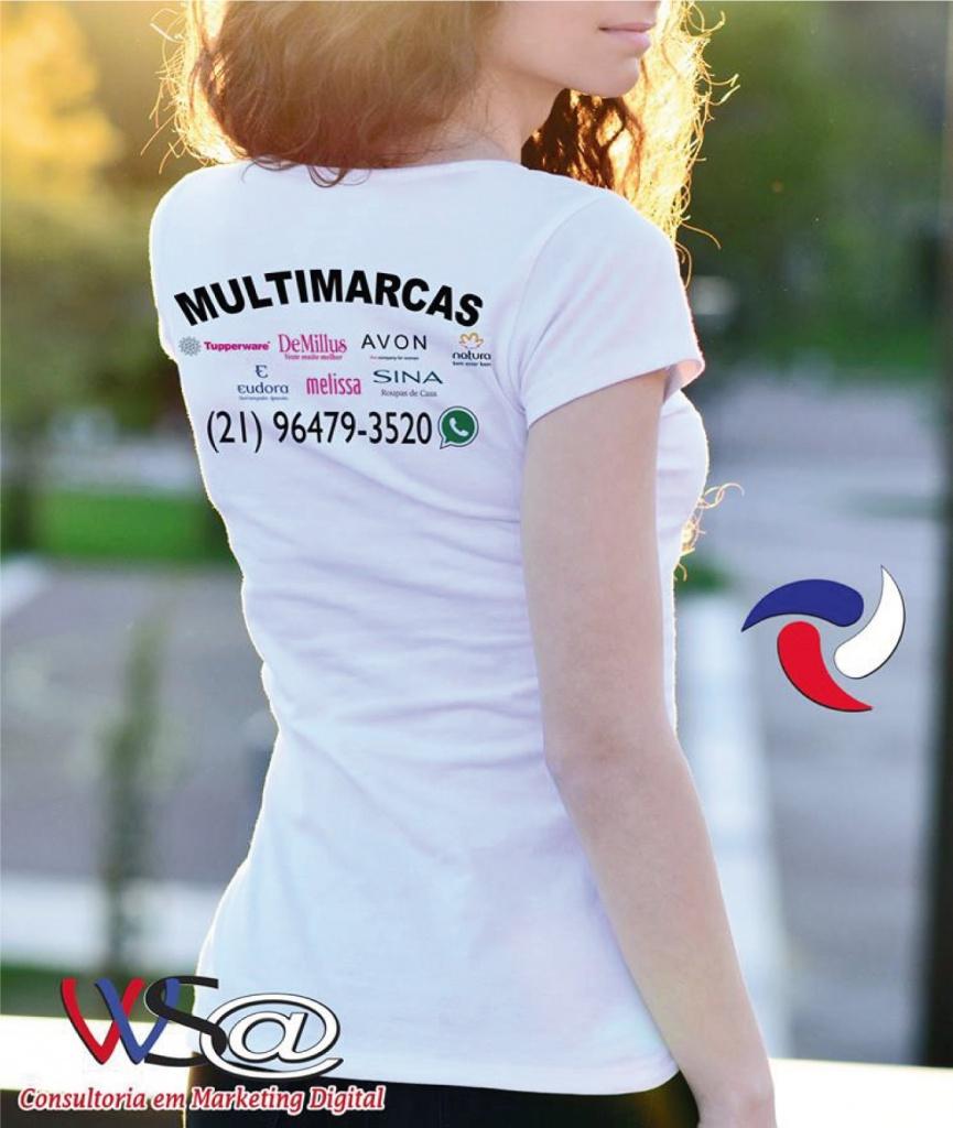 Gi cosméticos & utilidade - camisa-verso